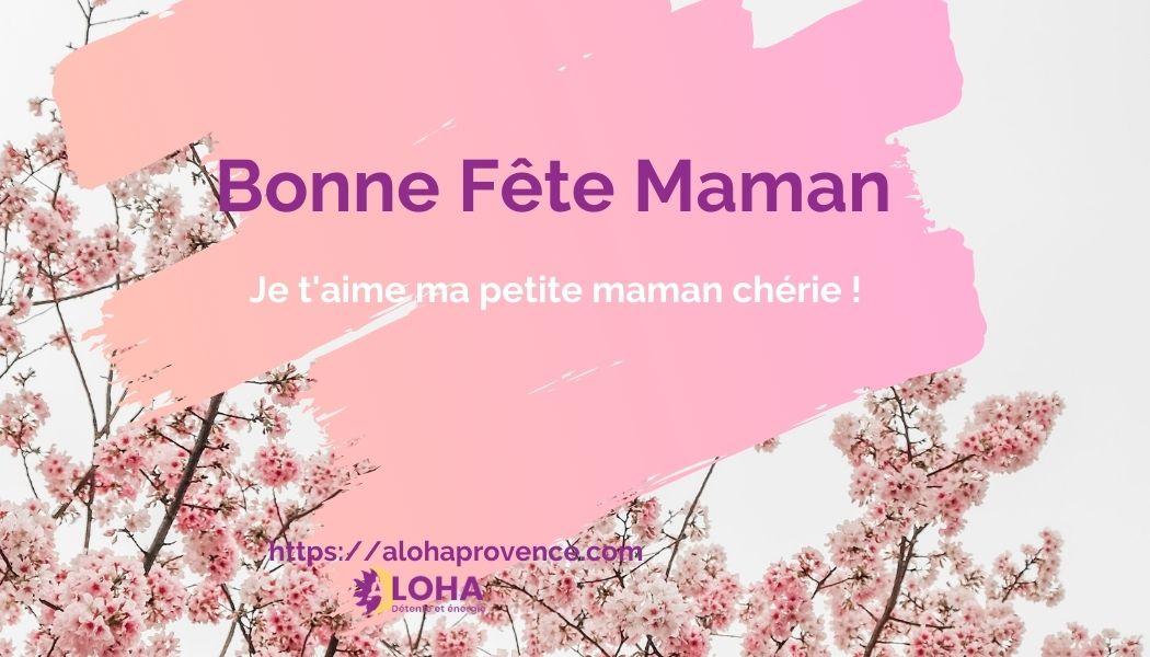 Offrez une carte cadeau d'aloha provence pour une occasion très spéciale. La fête de votre maman.