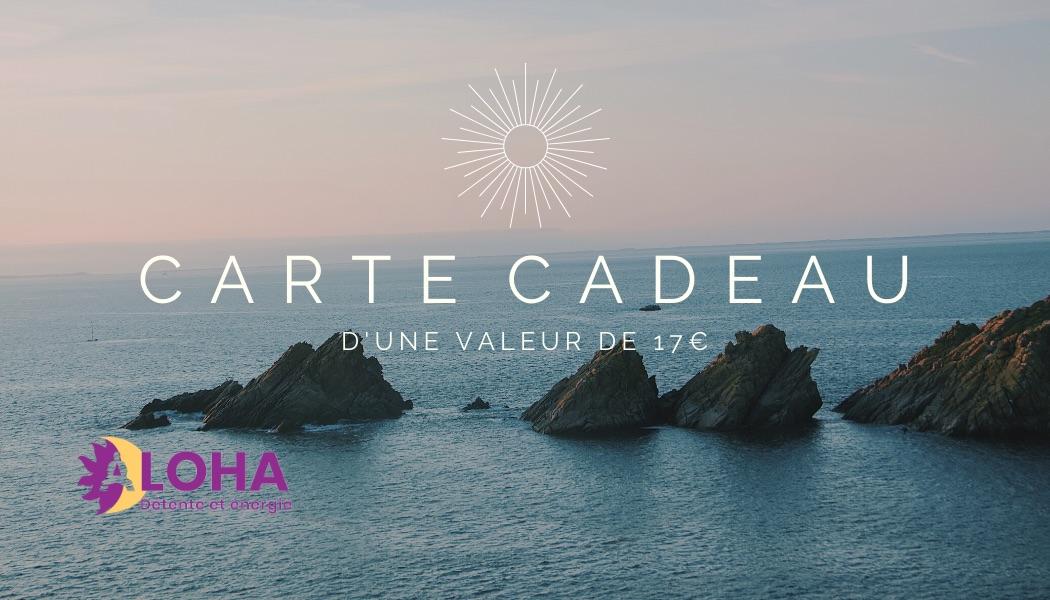 Carte Cadeau Dojo Aloha Provence